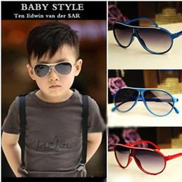 Wholesale Baby Sunglasses Wayfarer - 2017 Hot!!! 6 Style choose Design Children Girls Boys Sunglasses Kids Beach Supplies PC Protective Eyewear Baby Fashion Sunshades Glasses