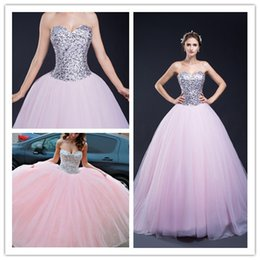 Wholesale Sweetheart Paillette Sleeveless Prom Dresses - Sexy Luxury Sweetheart Sequins Paillette Crystal Prom Dresses Sleeveless Lace-up Floor Length Celebrity Dress Gown Dresses 30287