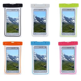 """Wholesale apple iphone size - Noctilucent Waterproof Phone Bag For iPhone 6,7,7 Plus, For Samsung S8,S8 Plus, Fit all sizes under 5.8"""" Diagonally"""