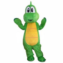 2019 traje adulto dinossauro frete grátis Yoshi Dinossauro Traje Da Mascote Dos Desenhos Animados Fancy Dress Adulto Frete Grátis desconto traje adulto dinossauro frete grátis