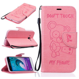 """Wholesale Card Holder Flip Phone Case - Samsung Galaxy J3 (5.0"""")   SM-J320F Case Fashion Cartoon PU Leather Wallet Flip Case Book Style & Stand and Card Holder Phone Bag"""