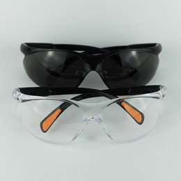 Wholesale Pc Medical - Workplace Silica Gel Safety Supplies Eyes Protection Clear Protective Glasses Wind and Dust Anti-fog Lab Medical Use Safety Goggles 2124