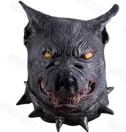 Wholesale Masquerade Wolf Masks - halloween wolf mask scary wolf mask masquerade party mask wolf COSPLAY accessories