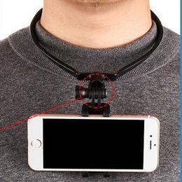 Selfie Kamera Halskragen Wearable Phone Mount Smartphone Ständer für iPhone 7 Samsung Xiaomi Handyhalter DHL frei USSZ096 von Fabrikanten