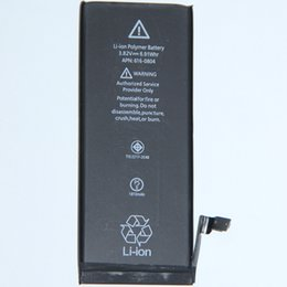 Wholesale Iphone 5s Cable Oem - OEM Original Battery for iPhone 6 1810mAh Li-ion Internal Replacement w Flex Cable 4S 5S 5C 6S 7 6Splus 7plus