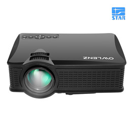 Wholesale Projection Lcd - Wholesale-Better than UC40   GM60 1500 Lumens SD50 Plus Projection HD LCD Business Smart Advertising Education Projector