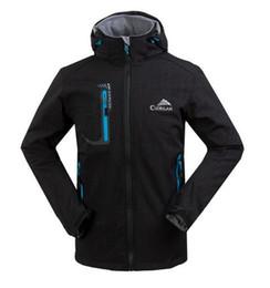 Wholesale Manteau Hoodies - New Spring Autumn Outdoors Warm Hoodie Manteau Veste Homme Softshell Jacket Men Waterproof Windbreaker Man Coat Chaquetas Hombre