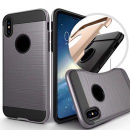 Wholesale Case Iphone Verus - Verus Brushed Hybrid For Galaxy S8 Plus iphone X case Armor Rugged Ballistic Shockproof Hard PC+Soft TPU Beetle Slim Cover