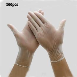 припой Скидка 100шт. ОТЛИЧНАЯ ПВХ прозрачная Главная промышленность Рабочие латексные перчатки с многоцелевыми перчатками и нитриловые перчатки на складе