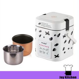 Wholesale Rice Pot - 1.2L mini electric rice cooker 110 220v automatic digital rice cooker mini small rice cooker for 1-2 person