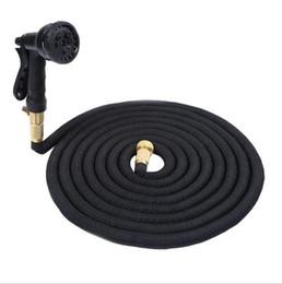 2019 typen gartengeräte Erweiterbares Garten-Bewässerungsschlauch-flexibles Rohr 50FT mit Spray-Düsen-Metallverbindungsstück-waschendem Auto-Haustier-Bad-Schläuche OOA1960