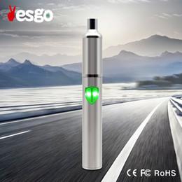 Wholesale Cheap Pens Kits - Professional manufacturer YESGO vapor flask case high qaulity vapor pen kit factory cheap price vape pen battrey