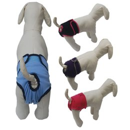 Wholesale Nappy Pants - 12mr3 Durable Pet Dog Diapers Dogs Nappy Changing Comfy Pants Fashion Sanitary Pet Protection Apparel Soft Comfortable Hot Sale