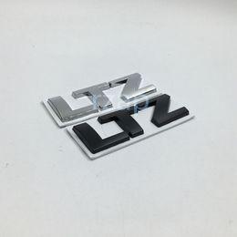 Wholesale Trunk Cruze - 10Pcs lot For Chevrolet Cruze Rear Trunk Deck Lid LTZ Letter Logo Emblem Nameplate Chrome 3D Sticker
