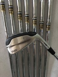 Wholesale Iron Headcovers - Golf clubs T-MB 718 Irons set 3456789P With Dynamic Gold Steel R300 shaft 8PCS TMB 718 Golf Irons Come headcovers