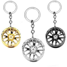Wholesale Solar Car Wheels - Creative gift cart, wheel key, buckle, pendant, promotion, auto accessory, key buckle