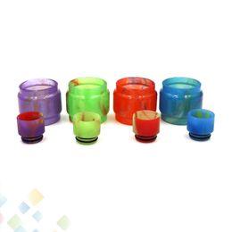 TFV12 Prince Epoxy Holder Kit de resina de reemplazo con tubo de resina de reemplazo y goteo de ajuste de la punta Fit TFV8 Baby V2 DHL libre desde fabricantes