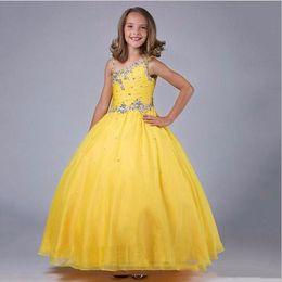 Vestido de fiesta Vestido de niña Little Queen Vestido de abalorios Fiesta Concurso para niños Longitud del piso Cumpleaños Vestido para niños desde fabricantes
