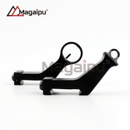 Wholesale Tactical Angle Sight - Magaipu Whosale High Quality Tactical Metal Iron Front and Rear Sight Offset 45 Degree Angled gun sight