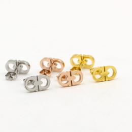 Wholesale small rhinestone earrings - Wholesale 316L Stainless Steel Ear Studs Earrings Fashion Women Punk Style Small Earrings Jewelry for women