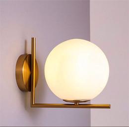 Wholesale Michael Glasses - Replica Item 2017 New lights IC LIGHTS C W Lighting IC light family G9 LED Ball Globe Michael Anastassiades Wall lamp