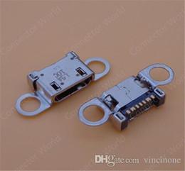 Wholesale Mini Jack Socket - 20pcs oem For Samsung S6 S6 edge G920 G920F G920T G920N G920A G920P charger charging port dock micro mini USB jack socket connector plug
