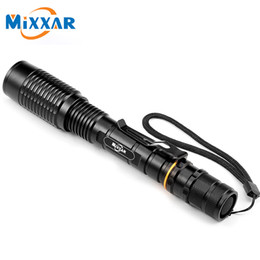 Wholesale Used Torches - 5-Modes Zoomable Torch Flshlight LED Flashlight V5 CREE XM-L T6 5000LM Can Be Used 18650 Batteries High Powers