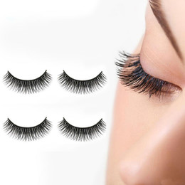 Wholesale Tools For Thick Hair - 1 Pairs Fake Eyelashes Natural Thick Long False Eyelashes Fake Eye Lashes Voluminous Makeup Beauty Tools for Women