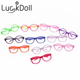Wholesale Wholesale 18 Inch Doll Accessories - 11 New arrivals Fashion sunglasses fit 18 inch American girl doll\doll accessories(only sell glasses)\
