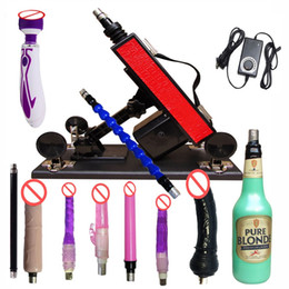 Wholesale Making Sex Male - China Luxury Automatic Sex Machine Gun Set for Men and Women,Making Love Machine with Male Female Masturbation Cup and Big Dildo Toys