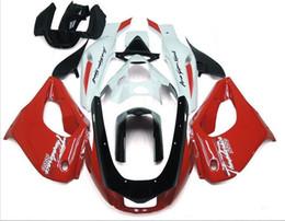 Yamaha thunderace red on-line-Três belo presente livre e novas placas de carenagem ABS de alta qualidade para YAMAHA Thunderace YZF1000R 1996-2007 bom vermelho branco vs preto