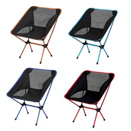 Wholesale Portable Hiking Chair - Portable Singda Folding Chair Ultralight Beach Seats for Hiking Fishing Festival Picnic BBQ Camping Stool Backrest Chair free shipment