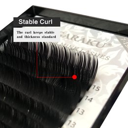 Wholesale One Artificial - NAGARAKU 5 cases one lot 7~15mm MIX 16rows case naturally-artificial mink eyelash extension