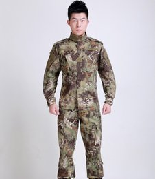 Wholesale Multicam Clothing - Men's Multicam Black Military Uniform Camouflage Suit Tatico Tactical Military Camouflage Airsoft Paintball Equipment Clothes Free Shipping