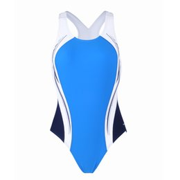 Wholesale Women One Piece Bodysuits - Polyester Tight Swimsuit Swimwear Women Sport Sexy Maillot Show Enviable Curve Backless Bodysuits Swim Bathing Suits