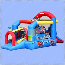 Wholesale Bouncy Castles - Good Quality Inflatable Bounce House Combo Slide,Bouncy Castle for Children,Jumping Castle with Air Blower