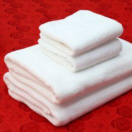 Wholesale Floor Weight - Hotel Bath Towels Luxury Spa Bathrobe Cotton Soft Pure White Floor Mats Wholesale Bathing Usage Weight 350