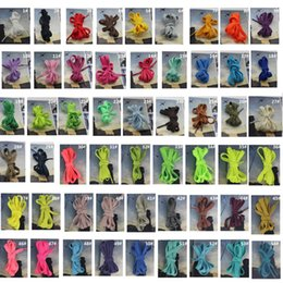 Wholesale Shoe Spray - 150*0.8cm FLAT Shoe Laces Shoelaces 24 colors for option 1500Pairs