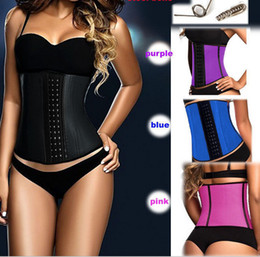 Wholesale Blue Waist Trimmer - Sculpting Clothes Hot Shapers Neoprene Waist Shaper Belt Trainer Trimmer Waist Body Slimming Shaping Cincher Reducer Sheath Belt