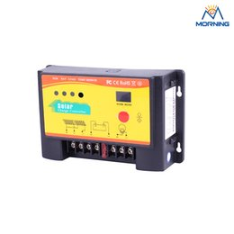 Wholesale Ce Solar Charge Controller - China 12 24V auto 10 A ce rohs solar charge controller with light & time 17modes control