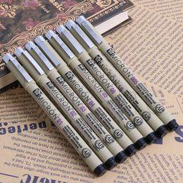 Wholesale Sakura Wholesale - Wholesale- Sakura Pigma Micron Fine Line gel Pen 005 01 02 03 04 05 08 1 .0 Art Supplies
