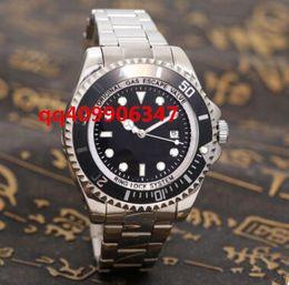Wholesale Time Lights - New 44MM Luxury watch brand luxury quality man's highest military sports timing wrist watch yellow light golden port 44 mm quartz watch