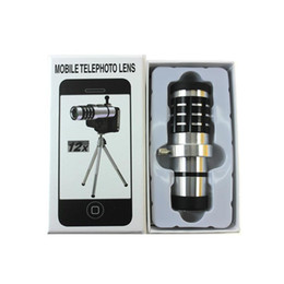 Canada Téléphone portable 12x zoom optique caméra télescope lentilles téléobjectif pour Samsung galaxy S6 S7 Offre