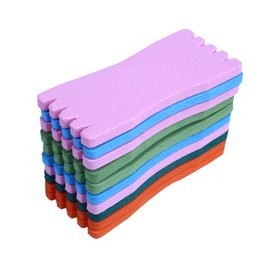 Wholesale Wholesale Carp Fishing Tackle - Wholesale- 10Pcs Foam Fish Winding Storage Boards Line Fishing Lure Trace Wire Holders Carps Crucian oam plate hook EVA fishing tackle