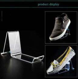 Wholesale Wholesale Shoe Display Stand - Shoes Display Stand Rack Headphone Holder Shelf made of Acrylic Nice Design Gift Show for Father's day