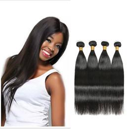 Wholesale Eurasian Human Hair Weave - Filipino Hair Extension 100% Straight Virgin Human Hair 4 Bundles Cambodian Russian Eurasian Weave Filipino Straight Remy Hair Extensions