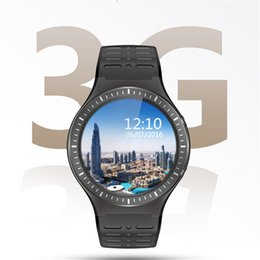 Wholesale Used Kids Quad - Android 5.1 smart watch S99B for iphone samsung 3G WCDMA GPS WIFI Sim card heart rate camera MTK6580 QUAD Core 512MB+8GB smartwatch cellphon