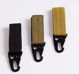 Wholesale Quick Release Hooks - Multi-Use Sling Clips Quick Release Outdoor Hunting Webbing Hanging System Belt Keychain Strap Buckle Backpack Key Hook