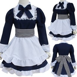 Wholesale Costume Hetalia - Kukucos Anime Halloween Party Suit APH Hetalia Belarus Cosplay Axis Powers Natasha Alfroskaya Maid Dress Costume