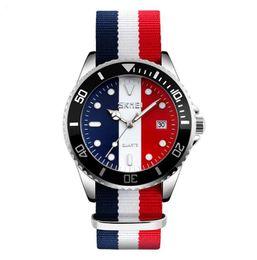 Wholesale Women Watches Colour - SKMEI Lovers Watches Men And Women Fashion Casual Watch Nylon Strap 30M Waterproof Multiple Colour Quartz Wristwatches 9133